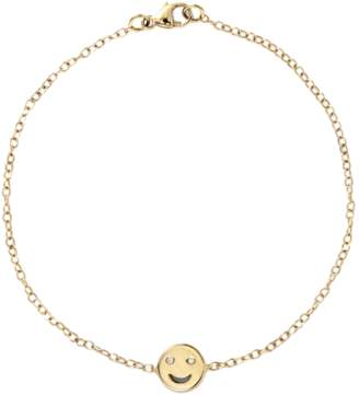 Alison Lou Single Happy Bracelet