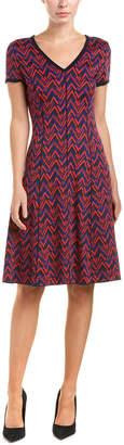 St. John Wool-Blend Dress
