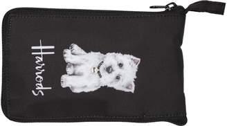 Harrods Westie Pocket Shopper Bag