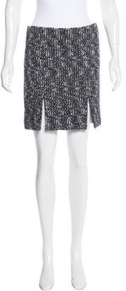 Alexander McQueen Tweed Mini Skirt