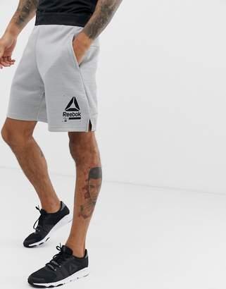 Reebok Training Spacer Shorts In Grey