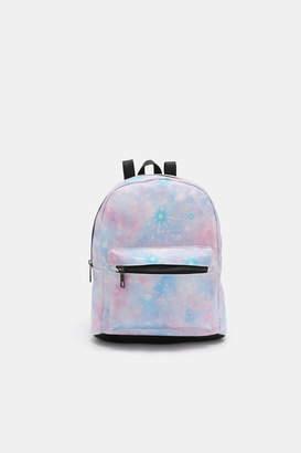 Ardene Galaxy Faux Leather Mini Backpack