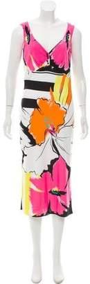 Yigal Azrouel Sleeveless Printed Dress