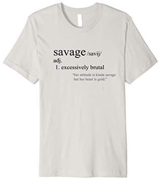 Savage Definition T-Shirt