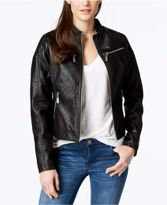 Joujou Jou Jou Juniors' Faux-Leather Jacket