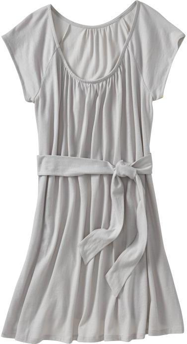 Women's Tie-Front Flutter-Sleeve Dresses