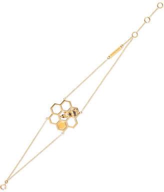 Delfina Delettrez 18-karat Gold Multi-stone Bracelet