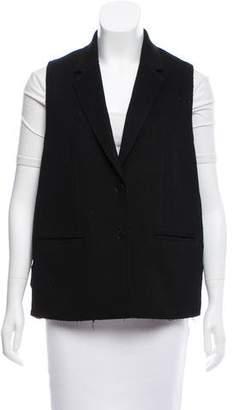 Alexander Wang Silk-Accented Wool Vest