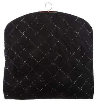 Chanel Quilted Nylon Garment Bag Black Quilted Nylon Garment Bag