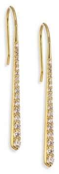 Ila Emi Diamond& 14K Yellow Gold Drop Earrings