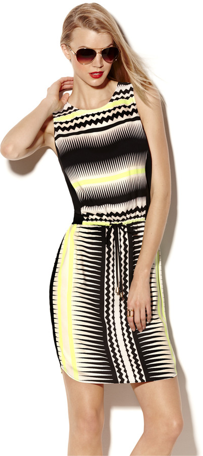 Vince Camuto Echo Wave Tank Dress