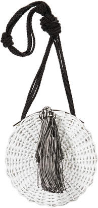Wai Wai Balaio Tassel Woven Small Shoulder Bag
