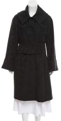 Magaschoni Knee-Length Knit Coat