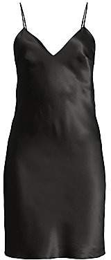 Gilda and Pearl Women's Sophia Short Silk Slip Dress