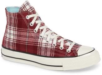 Converse Chuck 70 Plaid Hi Sneaker