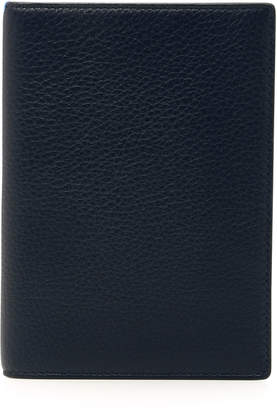 Smythson Burlington Navy Leather Passport Cover