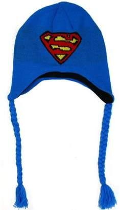 Old Glory Superman Blue Peruvian Knit Hat