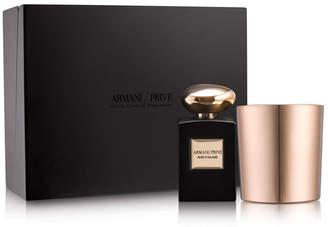 Giorgio Armani Prive Rose D'Arabie Candle Set