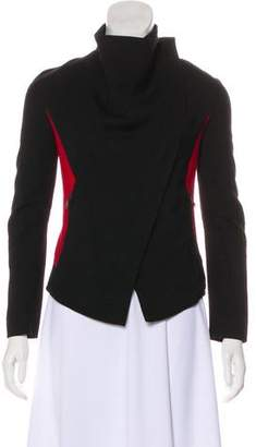 Gareth Pugh Virgin Wool Colorblock Jacket