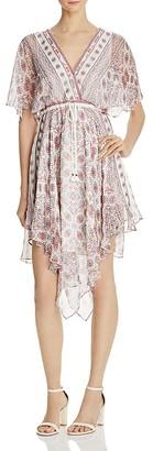 Ella Moss Wayfare Printed Silk Dress $258 thestylecure.com
