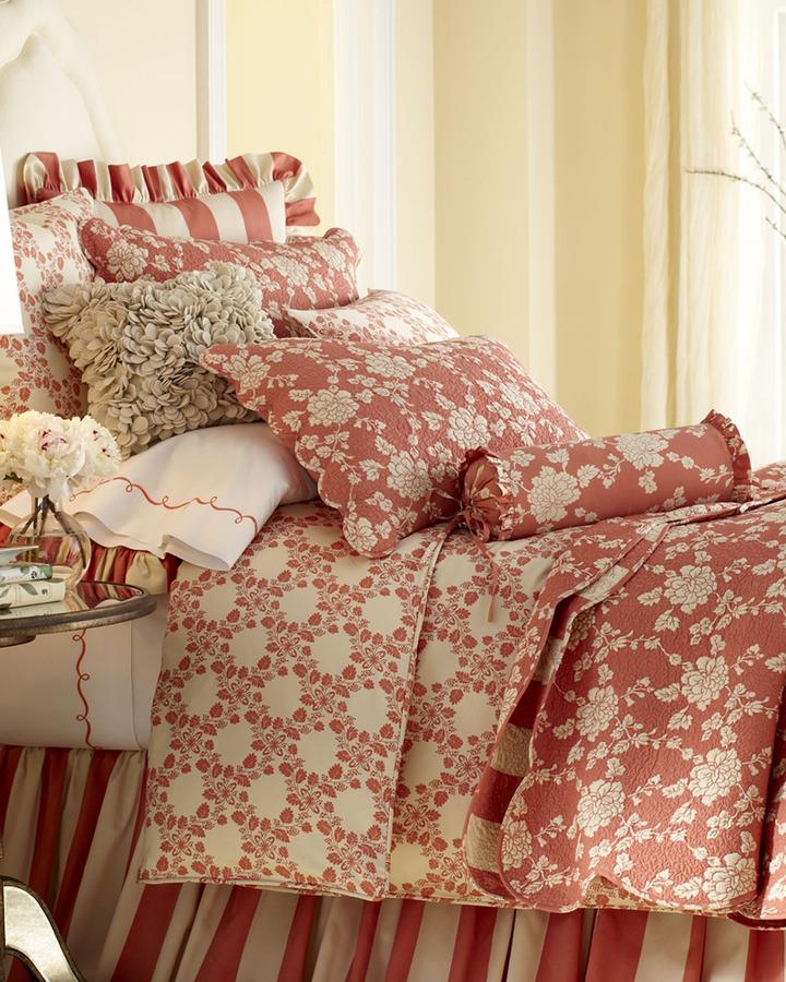Pine Cone Hill Trellis Bed Linens