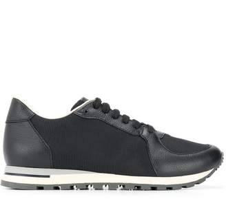 Canali tone on tone mesh sneakers