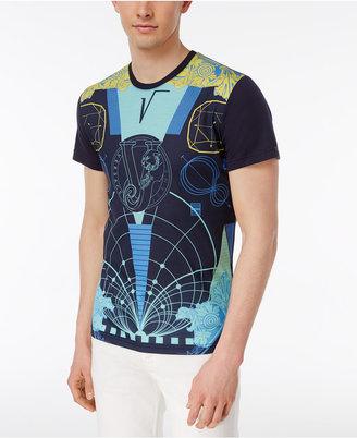 Versace Men's Graphic-Print Cotton T-Shirt $150 thestylecure.com