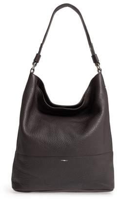 Shinola Relaxed Calfskin Leather Hobo Bag