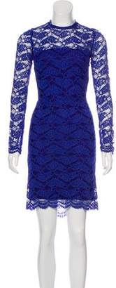 Alexis Knee-Length Lace Dress