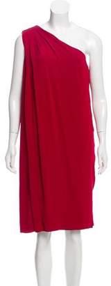 Diane von Furstenberg One-Shoulder Midi Dress