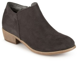 Women's Journee Collection Sun Faux Suede Heeled Booties $49.99 thestylecure.com
