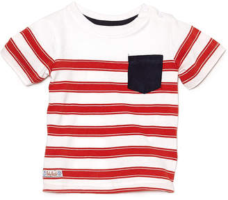 Pumpkin Patch Boys' Red Striped Tee