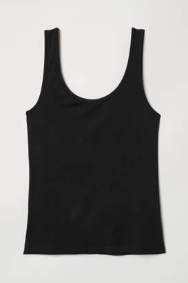 H&M Viscose Tank Top - Black