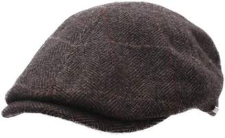 Stetson Men's Texas Wool Flat Cap Size L Brown-361