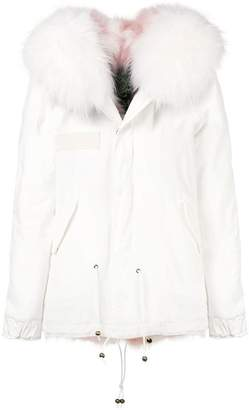 Mr & Mrs Italy fur collar jacket