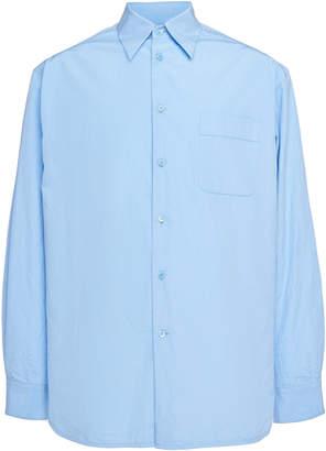 Marni Back Print Button Down Shirt