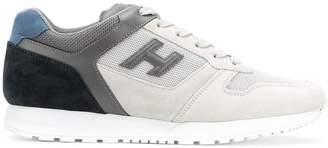 Hogan colour block sneakers