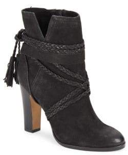 Vince Camuto Cyndia Leather Ankle Boots