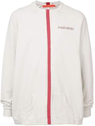 Komakino contrast stripe jumper