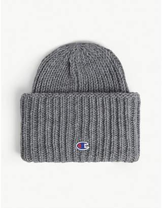 Champion Rib-knit wool-blend beanie