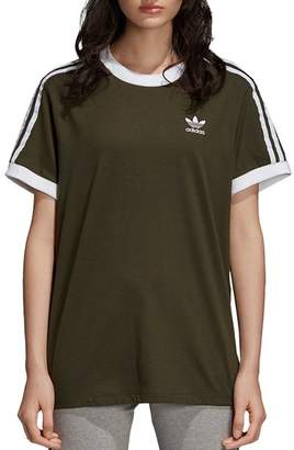 adidas Three Stripe Jersey Tee