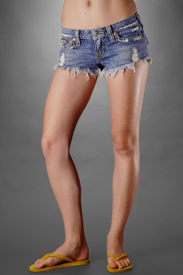 Women's Berkeley Joey Cut-off Shorts - Destroyed