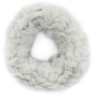 Yves Salomon sheared knit collar