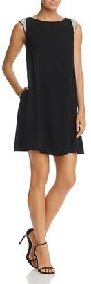 Aidan Mattox Embellished Shift Dress $295 thestylecure.com