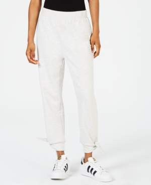 Miken Juniors' Bow-Cuff Cover-Up Jogger Pants, Created for Macy's Women's Swimsuit