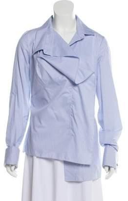 Monse Striped Button Up Shirt