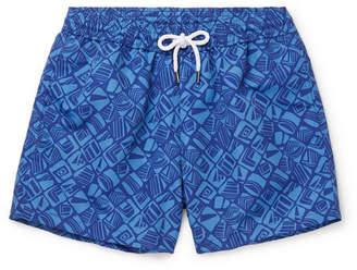 28288d705c01 Frescobol Carioca Telha Short-Length Printed Swim Shorts