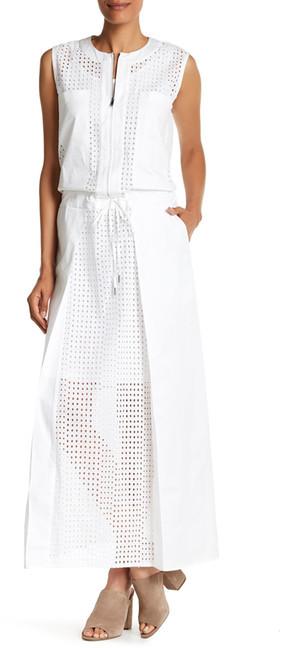 DKNYDKNY Sleeveless Eyelet Maxi Dress