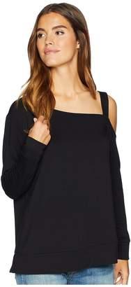BB Dakota Pick Up The Phone Soft One Shoulder Top Women's Clothing