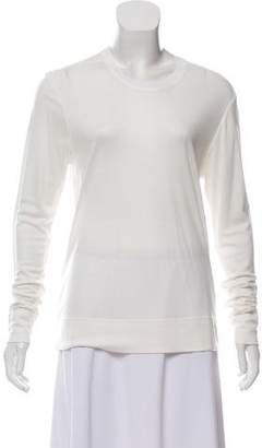 Helmut Lang Open Back Long Sleeve T-Shirt